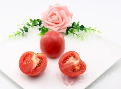 西红柿有清热解毒的作用