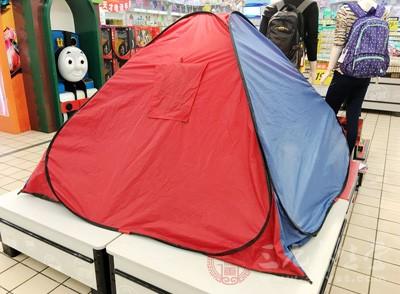 南京消协测试30款帐篷 超八成不防晒