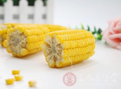 玉米可以调中开胃、降浊利尿