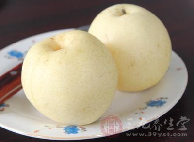 梨子的功效与作用 食用禁忌
