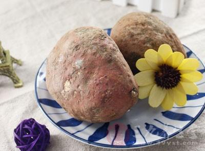 红薯的辅助降压效果主要归功于其中富含的钾元素