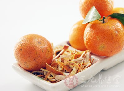 食用橘子皮能美白牙齿