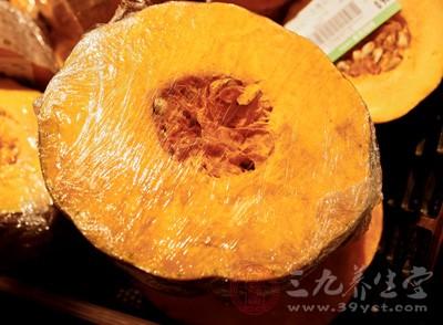 南瓜可以消除致癌物质亚硝酸的突变作用