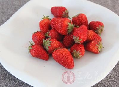 草莓里面含有维生素C