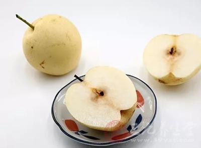 雪梨是典型凉性水果