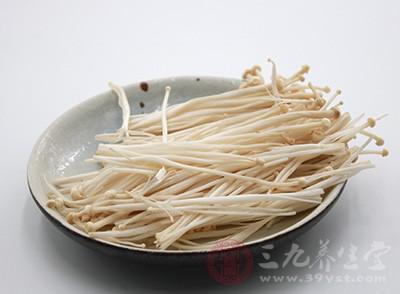 金针菇的营养价值 吃金针菇为什么会消化不良
