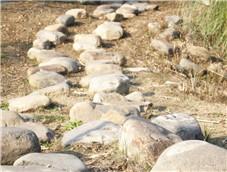 铺向远方的石头路