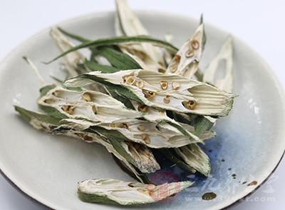 黄秋葵的粘性物质,可促进胃肠蠕动,有益于助消化,益肠胃