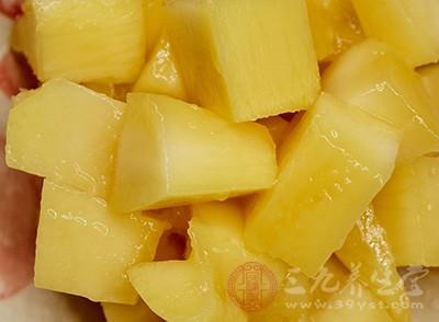 芒果中所含的芒果甙有祛疾止咳的功效