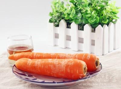胡萝卜中的ve和va对眼珠和眼部肌肉都有滋养作用