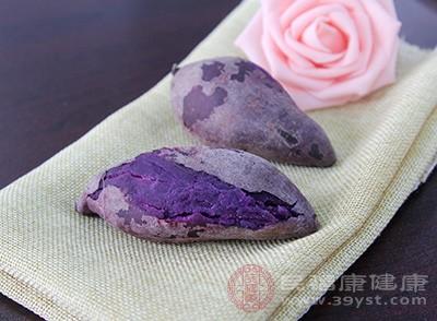 紫薯富含硒和铁是人体抗疲劳、抗衰老、补血的必要元素