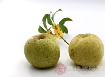 梨是民间止咳用的多的一种水果,有生津止渴、清热止咳的功效