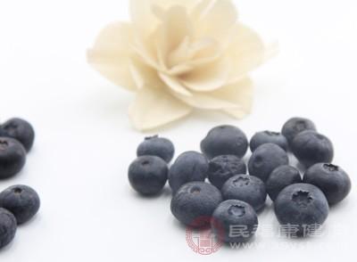 蓝莓属于一种含维生素C的酸性水果