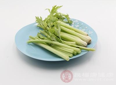 芹菜含酸性的降压成分,对兔、犬静脉注射有明显降压作用