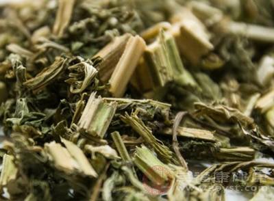 先将益母草放到酒、醋、姜汁中浸泡并炒干