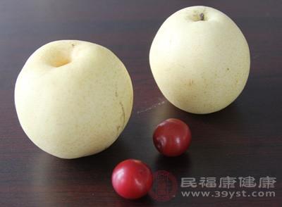 飲食清淡多吃梨