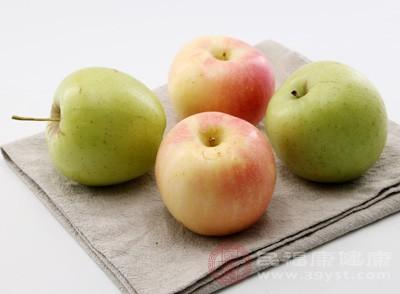 一个苹果含有约30毫克以上的类黄酮