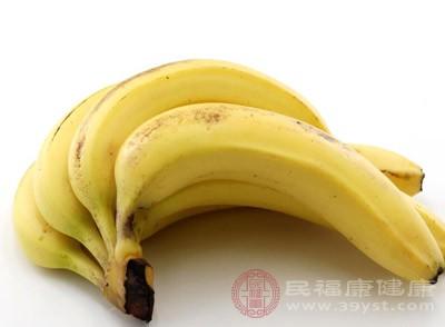 香蕉含有充足的水分和钾离子