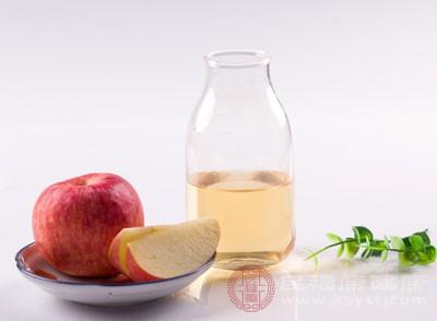 饮用苹果醋可以起到消除疲劳的作用