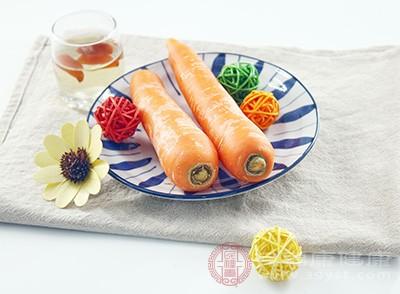 胡萝卜对于提升人体的免疫能力、暖身都是有作用的
