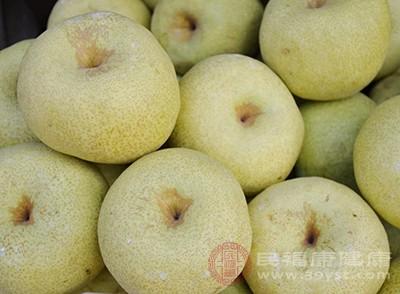 梨子的功效与作用 这些人最好不要吃梨子