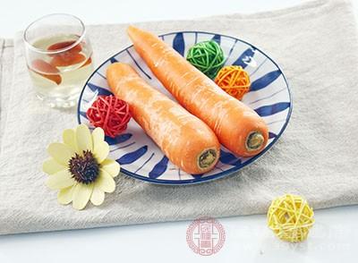 孩子吃胡萝卜长高
