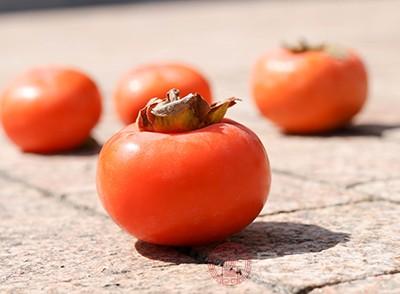 柿子的功效与作用 柿子不能和什么一起吃