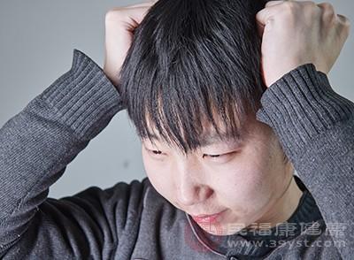 在患有 急性脑膜炎,等等的脑部经