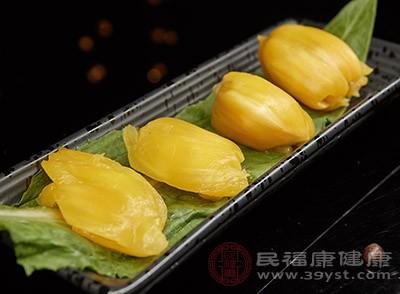 菠萝蜜中含有丰富的膳食纤维