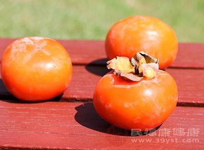 柿子的功效与作用 吃柿子的禁忌你都知道吗