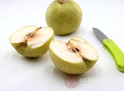 梨富含多种维生素和微量元素