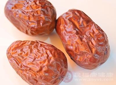 红枣具有补气的功效