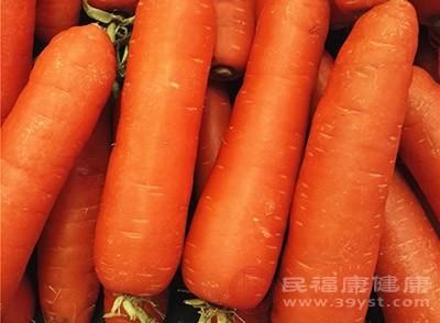 胡萝卜在止泻方面的效果特别好