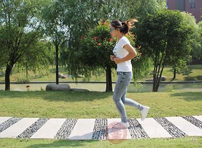 运动可以促进身体的血液循环