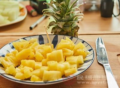 吃菠萝有什么好处