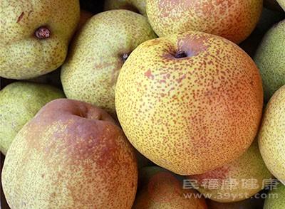 梨子里面有很多的维生素和矿物质