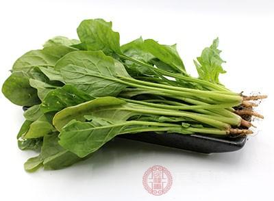 因此在月经期间,女性朋友们记得菠菜也要多吃