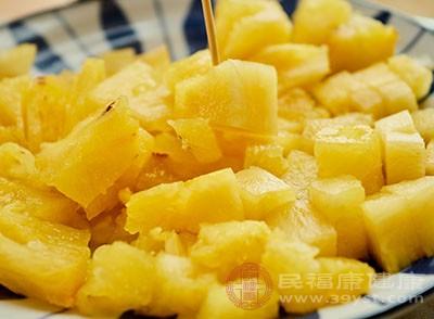 芒果和菠萝不克不及同食