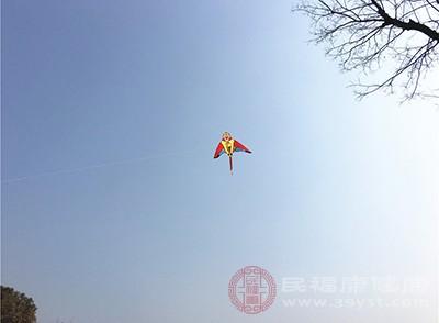 放风筝的时候,是需要抬头看向天空的