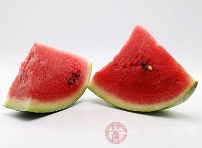 西瓜也是一种很好的开胃食物