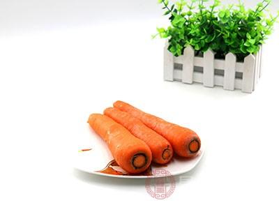 类胡萝卜素能促进视紫质达到正常含量