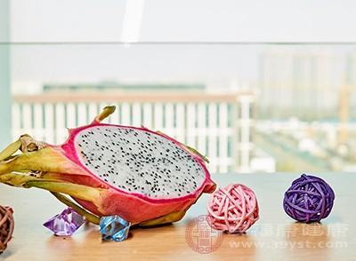 火龙果是一种很有有养分的食品