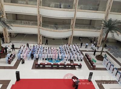 """第25届""""全国肿瘤防治宣传周""""启动仪式"""