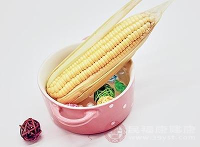 玉米含有丰富的纤维素
