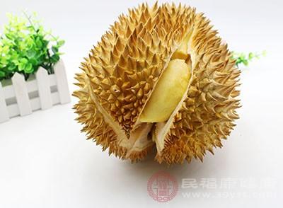 榴莲的好处 这个水果帮你消炎抗水肿