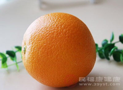橙子中含有丰富的维生素C