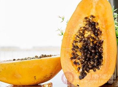 木瓜的好处 多吃这种水果居然能护肤