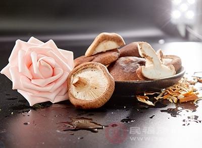 香菇本身含有的物质丰富