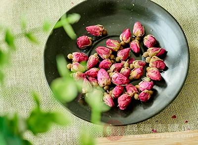 玫瑰花茶具有比较好的活血化瘀效果