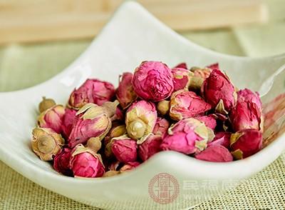 玫瑰花茶具有活血化瘀的效果